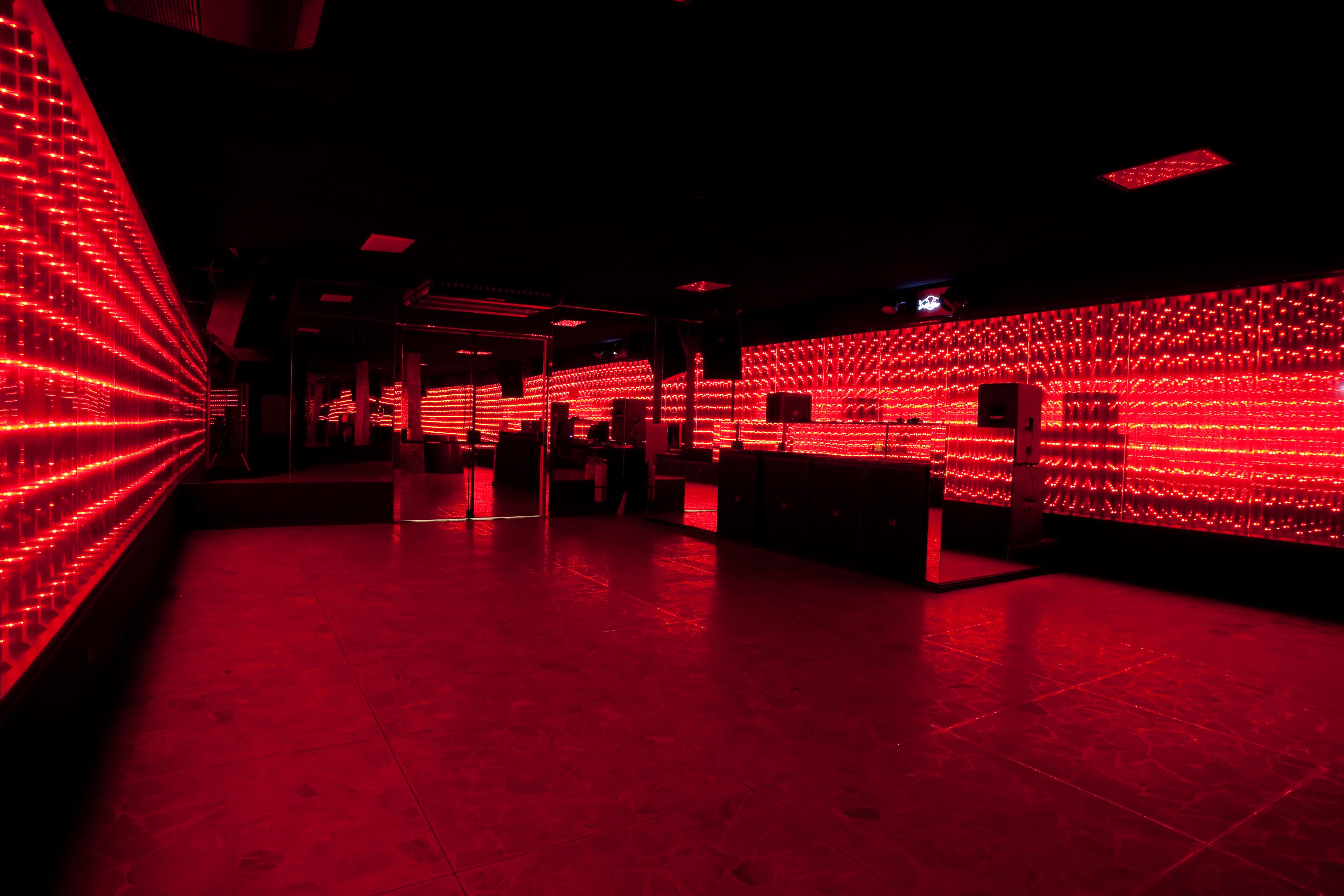 Lions' dance floor
